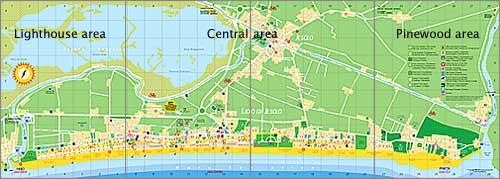 Hotel In Jesolo Jesolo Map
