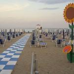 Jesolo spiaggia ed ombrelloni